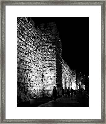 Jaffa Gate Framed Print by Amr Miqdadi