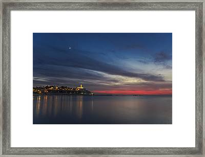 Jaffa On Ice Framed Print