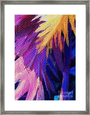 Jagged Framed Print