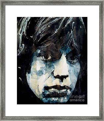 Jagger No3 Framed Print by Paul Lovering