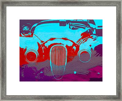 Jaguar Front End Framed Print