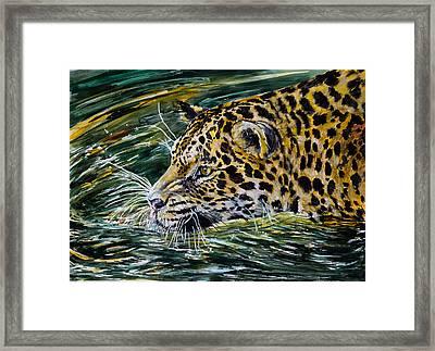 Jaguar Framed Print