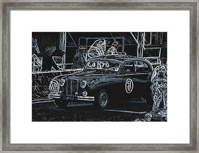 Jaguar Markvii 1952 Framed Print by John Colley