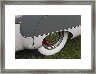 Jaguar Mk Ix Classic Framed Print by Susan Candelario