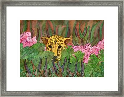 Jaguar Prowl Framed Print