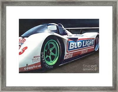 Jaguar Framed Print by Robert Hooper