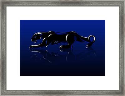 Jaguar Framed Print by Timothy Ramos