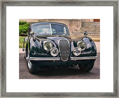 Framed Print featuring the photograph Jaguar by Victor Montgomery