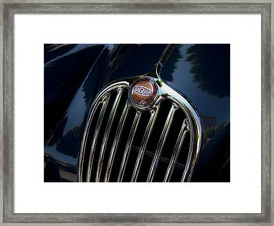 Jaguar Xk140 Framed Print