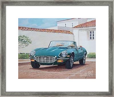 Jaguar Xke 1961-1975 Framed Print
