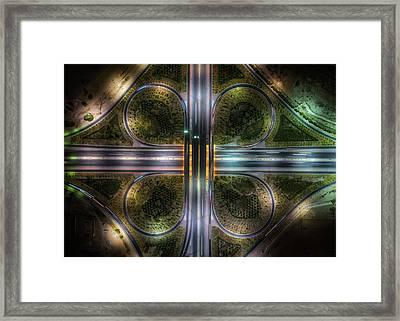 Jahra Road Framed Print