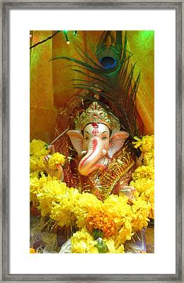 Jai Vinayaka Framed Print