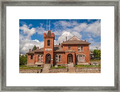 Jail Built In 1896 Framed Print