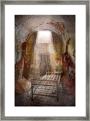 Jail - Eastern State Penitentiary - 50 Years To Life Framed Print by Mike Savad