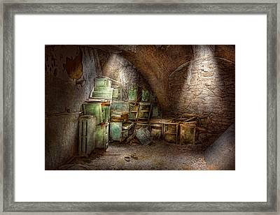 Jail - Eastern State Penitentiary - Cabinet Members  Framed Print by Mike Savad