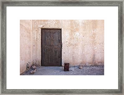 Jail House Rocks Framed Print by Peter Tellone