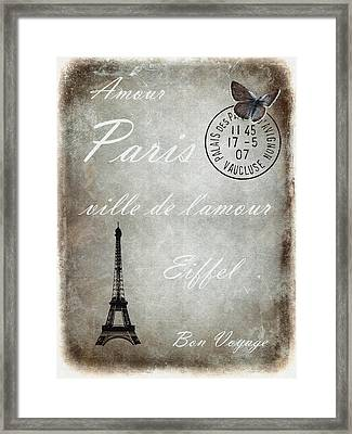 Jaime La France 2 Framed Print