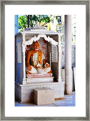 Jain Idol Framed Print