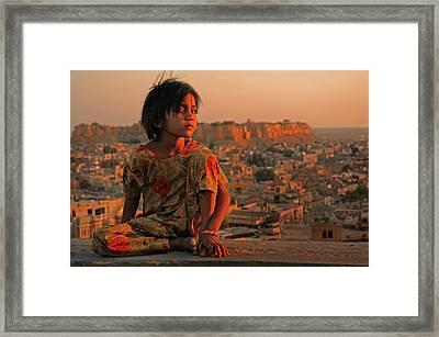 Jaisalmer Framed Print