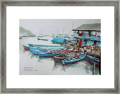 Jakarta Blues  Framed Print