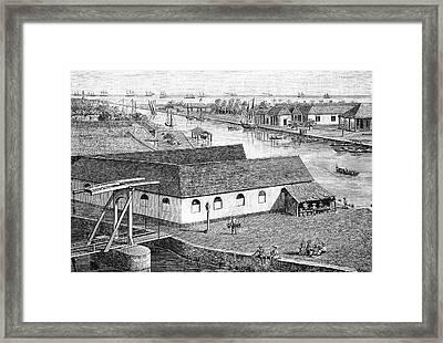 Jakarta Port Framed Print by Bildagentur-online/tschanz