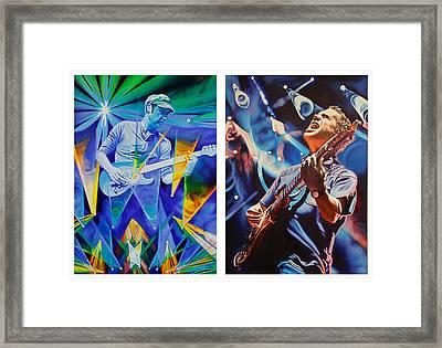 Jake And Brendan Framed Print by Joshua Morton