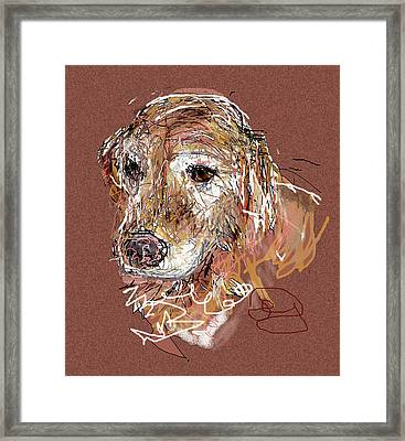 Jake Boy Framed Print