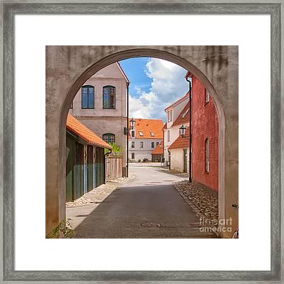 Jakriborg Sweden 64 Framed Print by Antony McAulay
