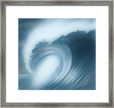 Jalama Surf Framed Print