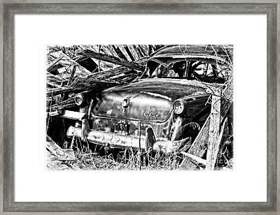 Jalopy For Rent Framed Print