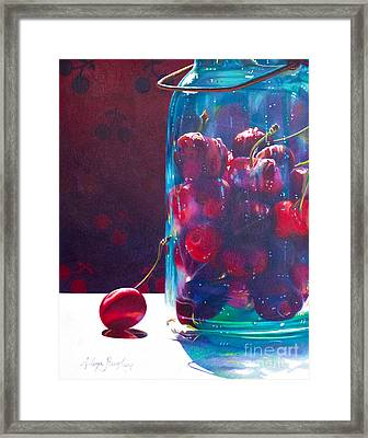 Jam Packed Framed Print by Arlene Steinberg