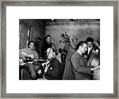 Jam Session, 1947 Framed Print by Granger