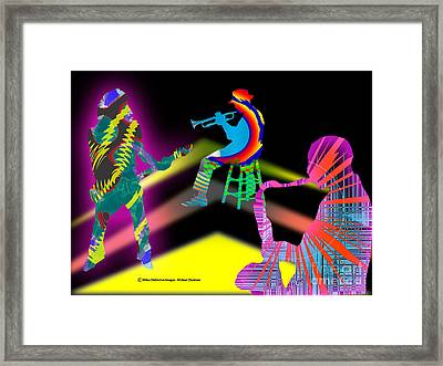 Jam Session Framed Print by Michael Chatman