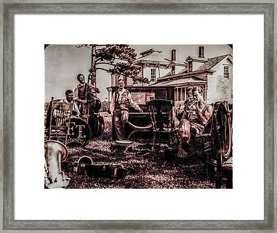 Framed Print featuring the photograph Jam Session by Ray Congrove