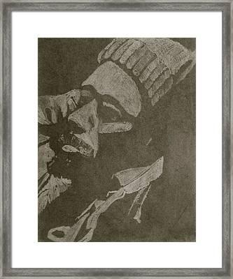 Jamaica Mon Framed Print by Debi Starr