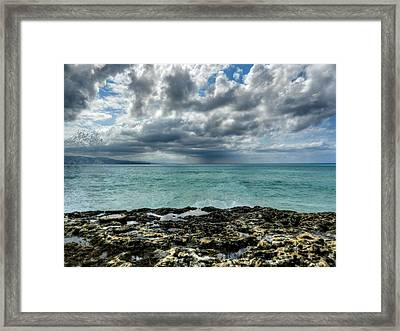 Jamaica - Montego Bay 002 Framed Print by Lance Vaughn