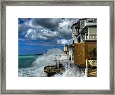 Jamaica - Montego Bay 003 Framed Print by Lance Vaughn