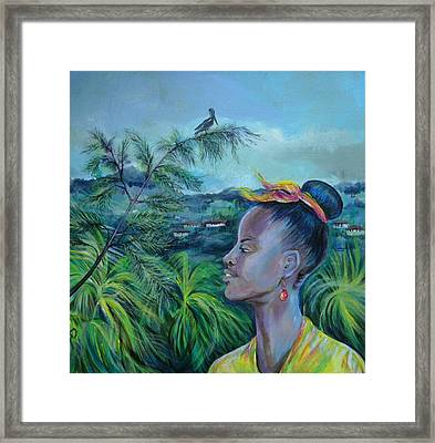 Jamaica. Part Two Framed Print by Anna  Duyunova