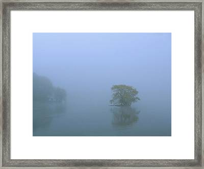 Jamaica Pond Framed Print by Juergen Roth