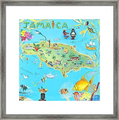 Jamaica Framed Print by Virginia Ann Hemingson
