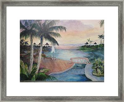 Jamaican Dream Framed Print