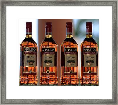 Jamaican Rum Dark Framed Print