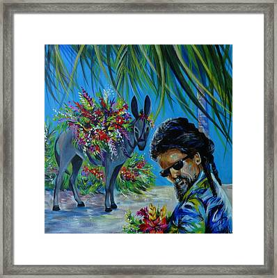 Jamaica.part One Framed Print by Anna  Duyunova