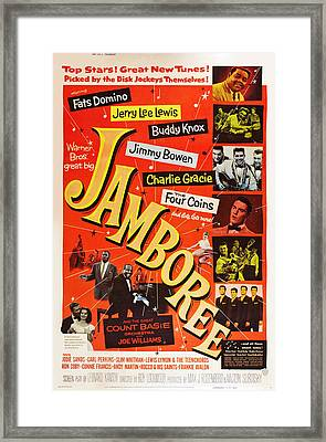 Jamboree, Lower Left Joe Williams Framed Print
