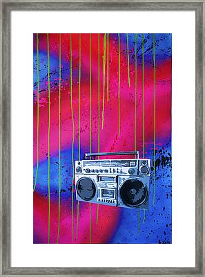 Jamboxxx Framed Print by Bobby Zeik
