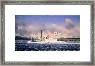 James Bard, Towboat John Birkbeck, American Framed Print