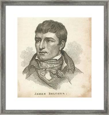 James Belcher Framed Print by British Library