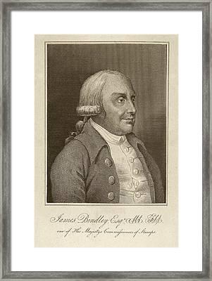 James Bindley Framed Print