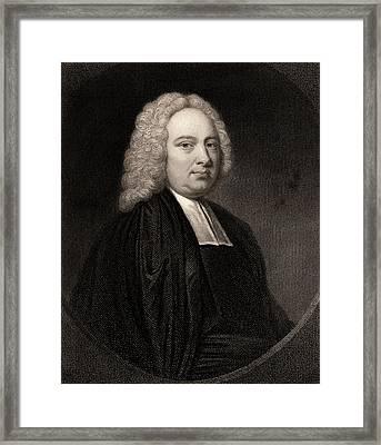 James Bradley Framed Print by Universal History Archive/uig