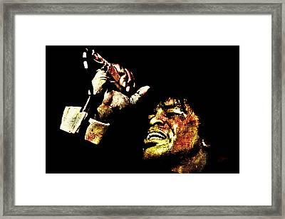 James Brown Framed Print by Dancin Artworks